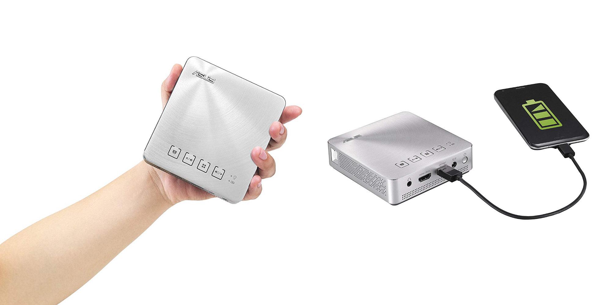 ASUS' Short Throw Pocket Projector duals as a power bank: $240 at Amazon (Reg. $319)
