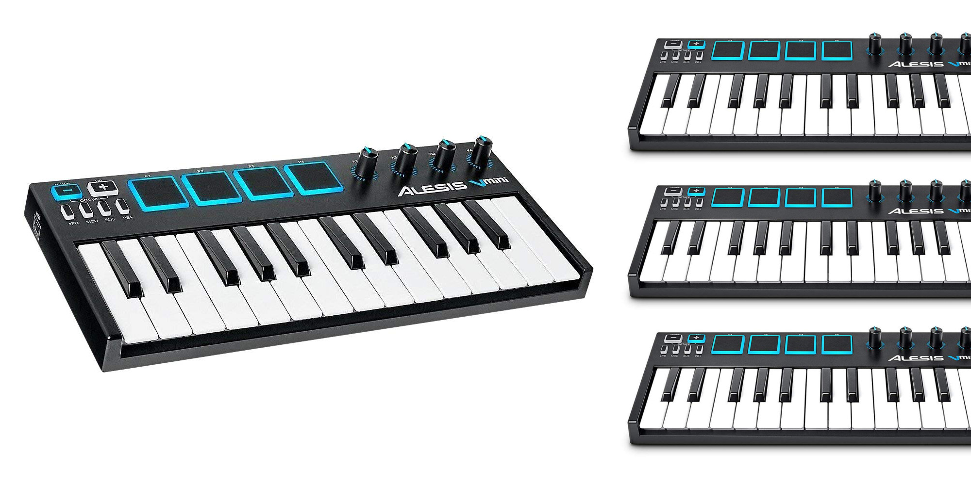 guitar center keyboard sale alesis vmini midi controller 49 much more from 25 9to5toys. Black Bedroom Furniture Sets. Home Design Ideas