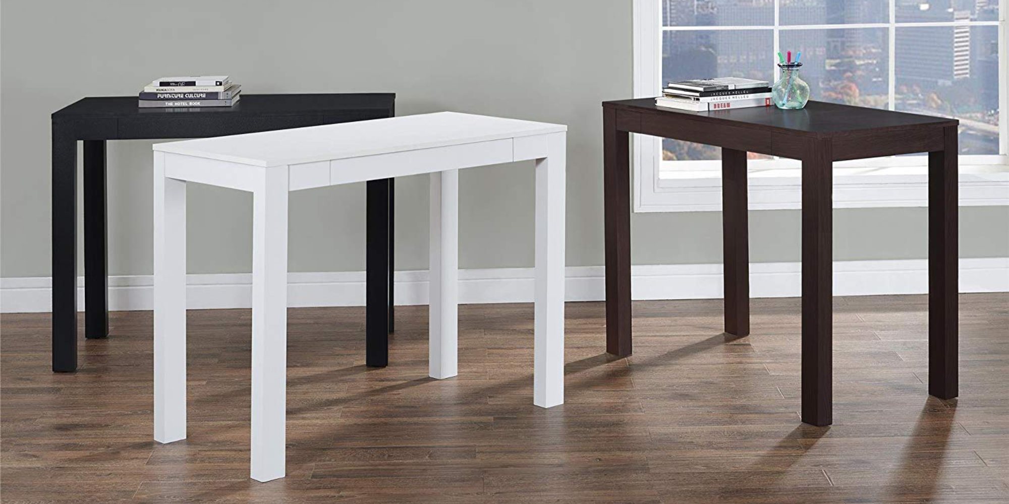 Simplify Your Home Office With An Ameriwood Parsons Desk