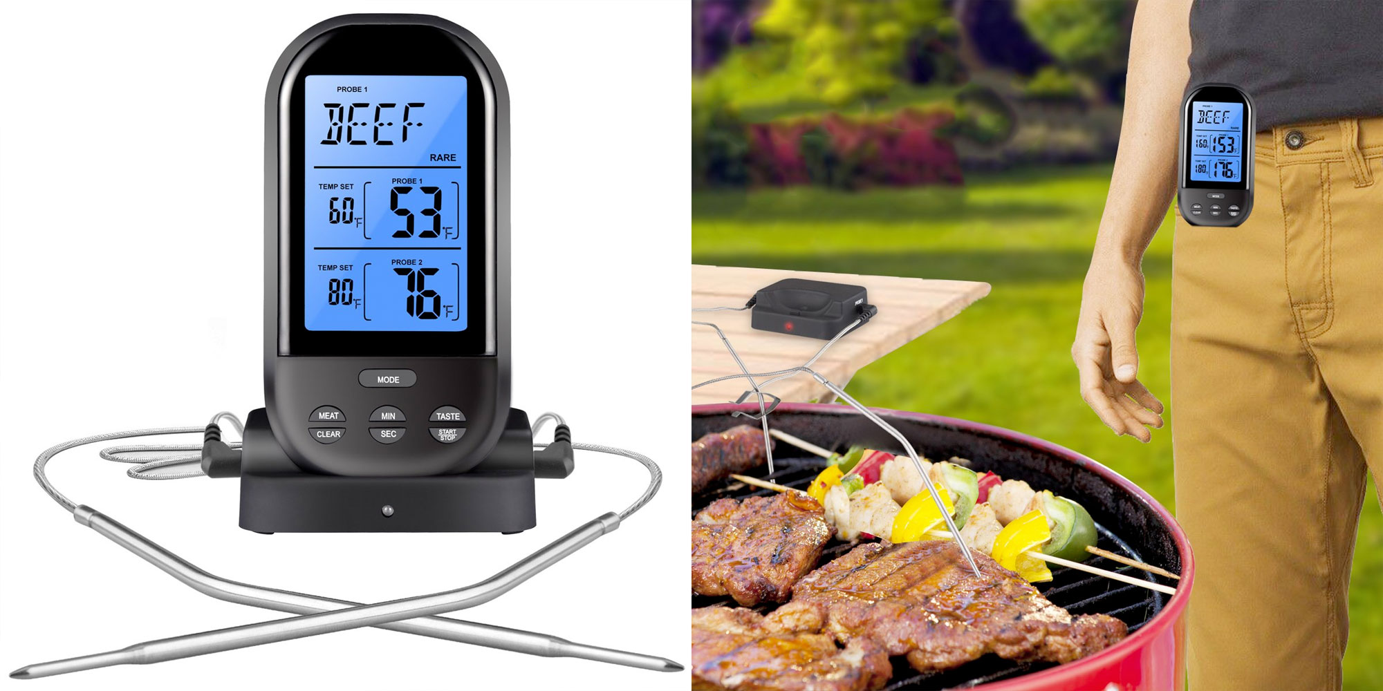 Cook the perfect steak or burger w/ this $12 Prime shipped wireless meat thermometer (50% off)