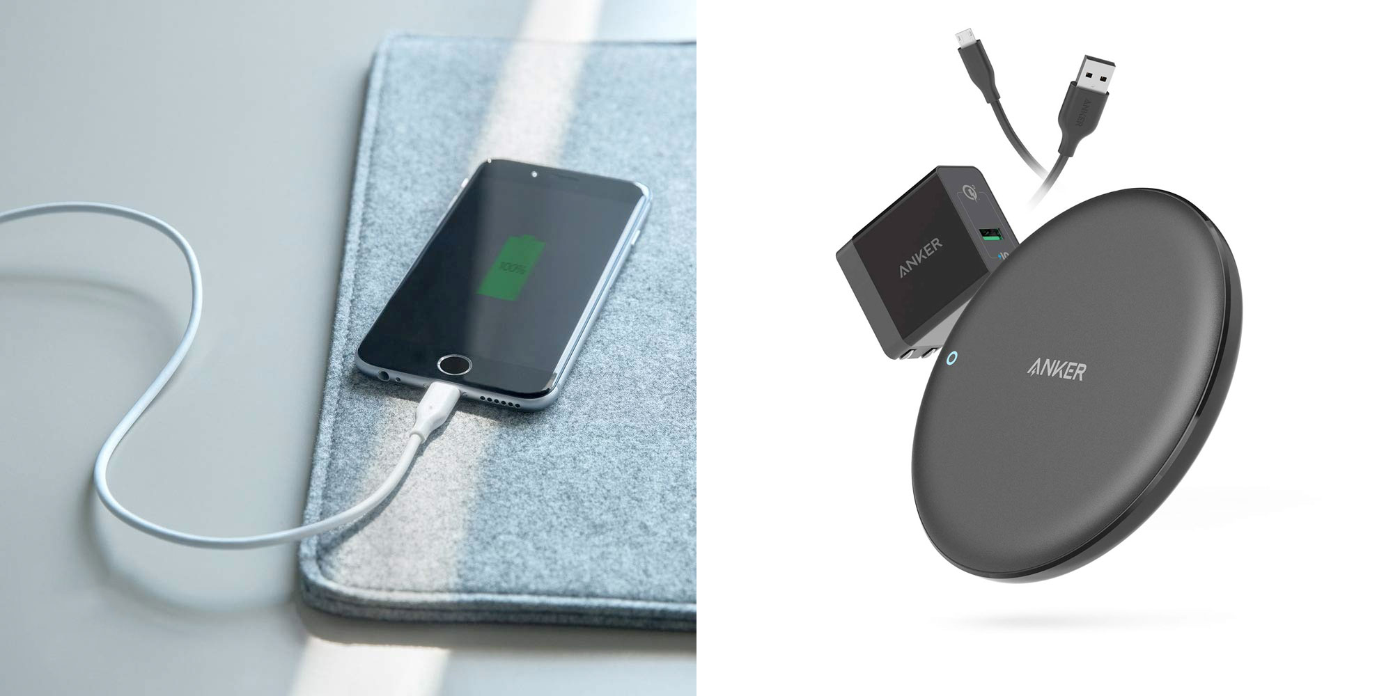 Anker's one-day sale offers MFi-certified Lightning cables, 7.5W wireless charger, more from $9