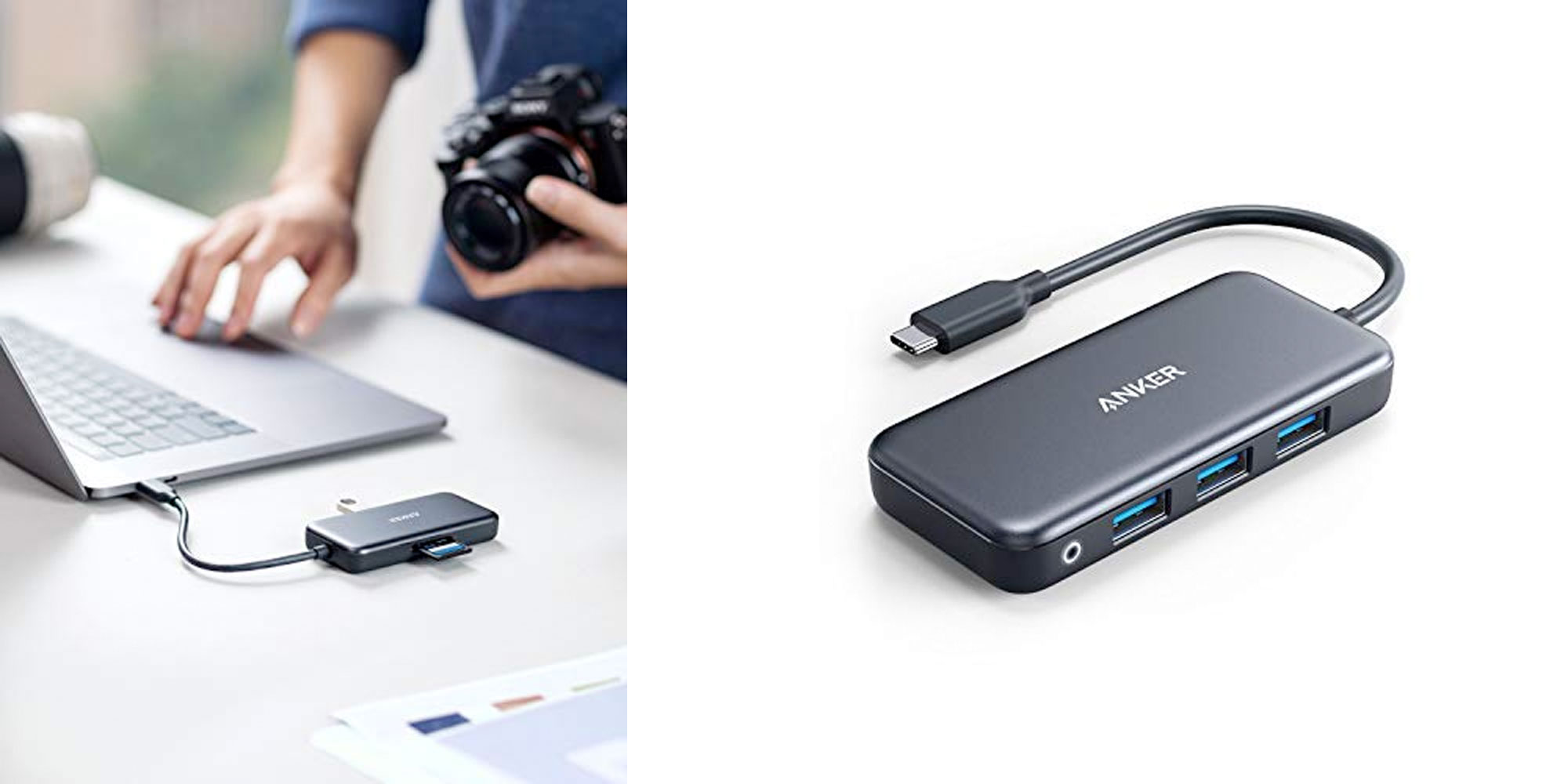 Transform one USB-C port into three USB 3.0, SD, and microSD for just $22.50 Prime shipped