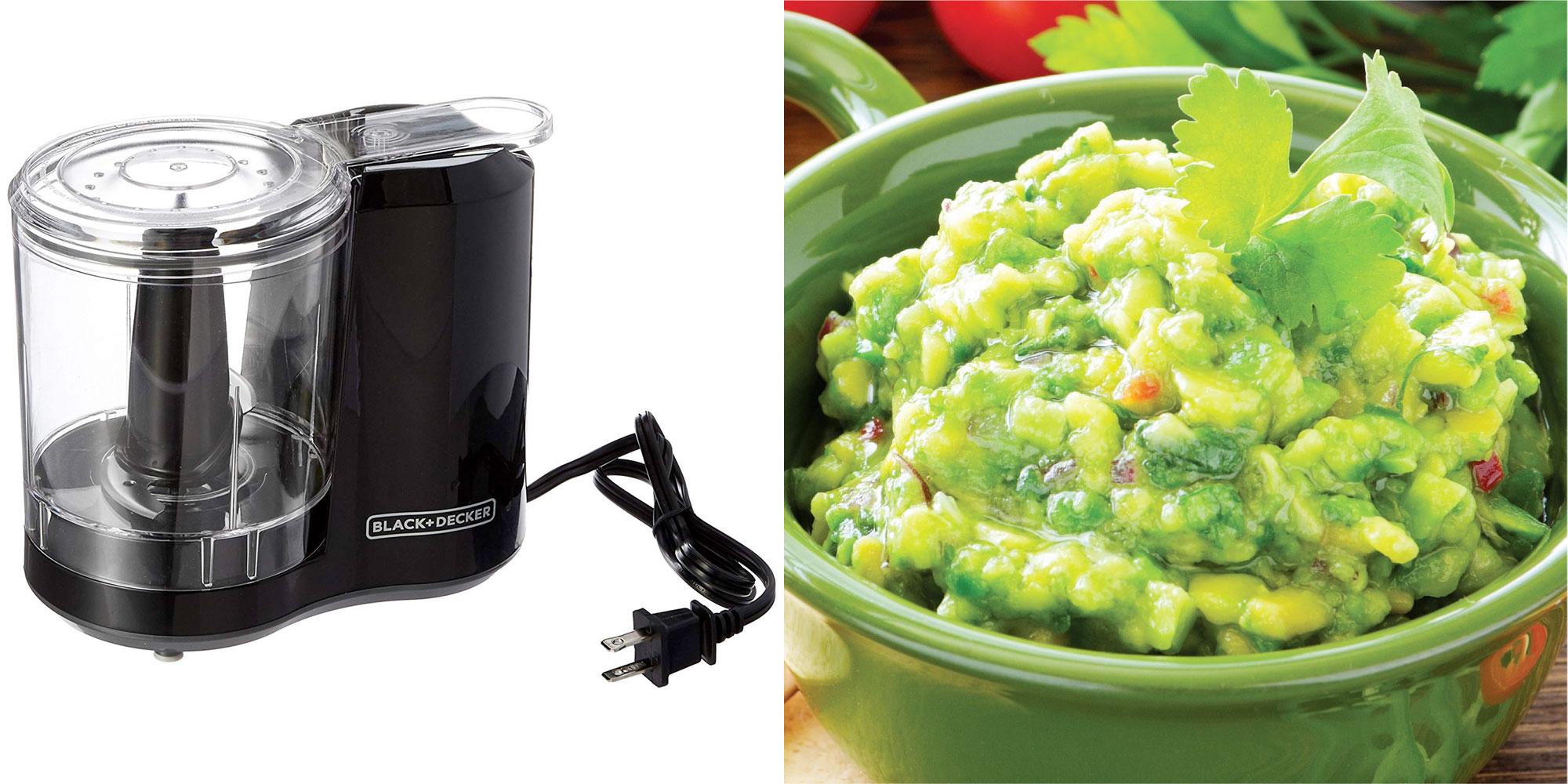 BLACK+DECKER's powerful 175W electric food chopper belongs in every kitchen for $14
