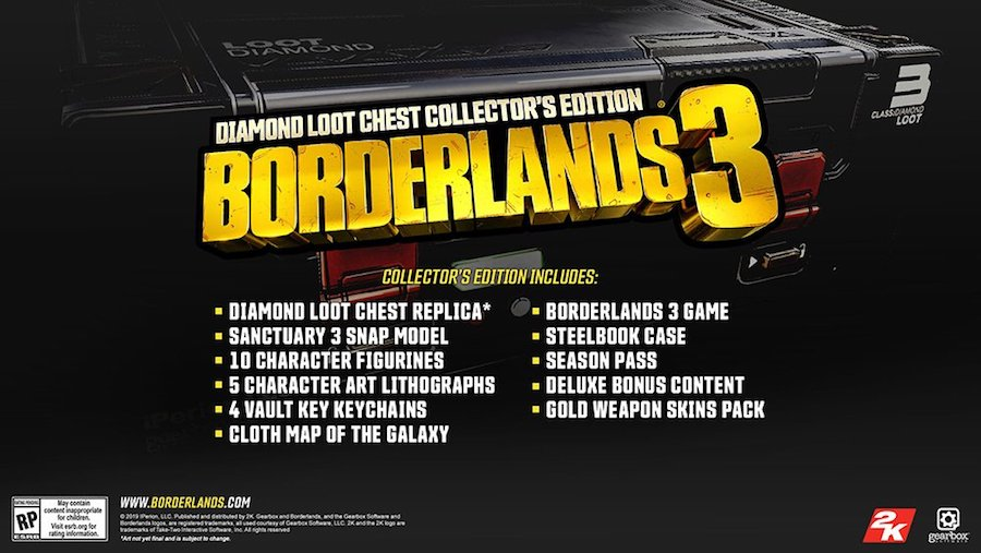 Borderlands 3 release date and special editions