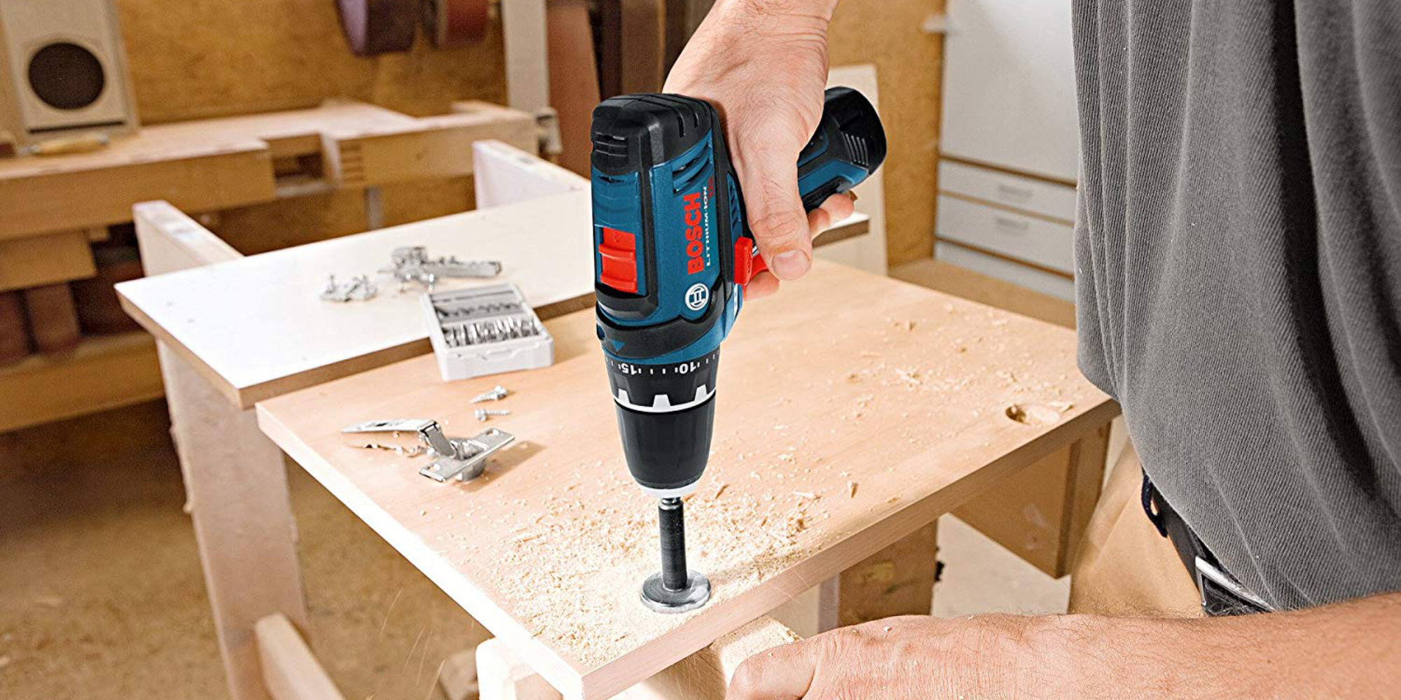 Go premium w/ Bosch's 2-pc. Drill Kit for $129 at Amazon (Save $40)