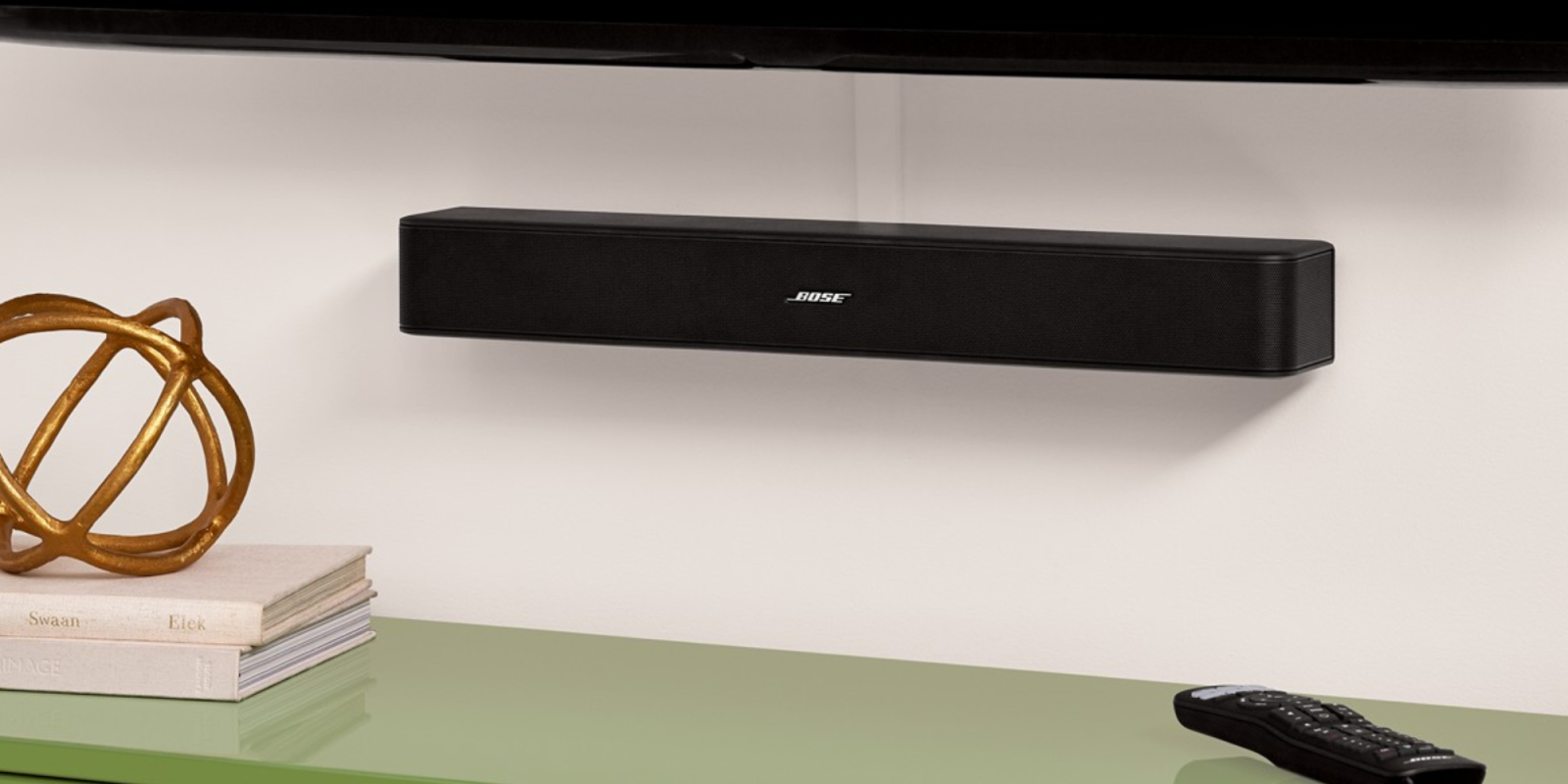 ed4ea4bb2ac Bose's Solo 5 TV Sound System gives your HDTV the audio boost it deserves:  $199 (Reg. $249)