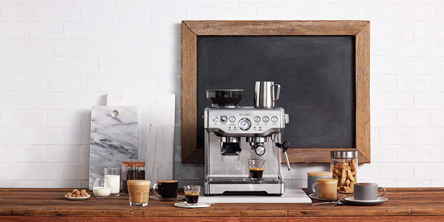 Bring the pro Breville Barista Espresso Machine home for $400 (Up to $300 off)