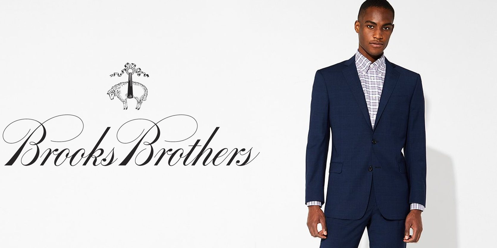 Polish your wardrobe with Brooks Brothers shirts, suits and