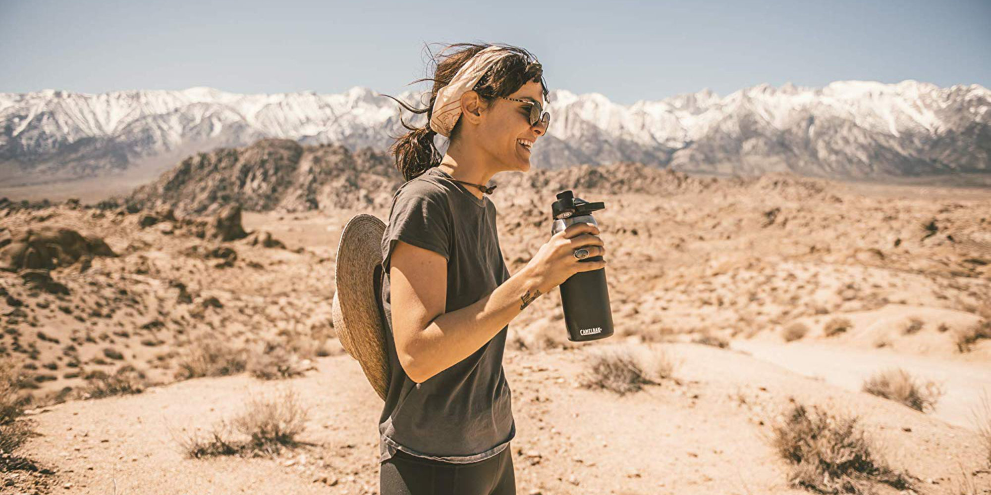 CamelBak's 32-ounce Vacuum Insulated Bottle can maintain temps for up to 24 hours: $27 (Save 25%)