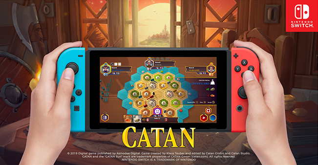 Catan for Nintendo Switch hits this summer