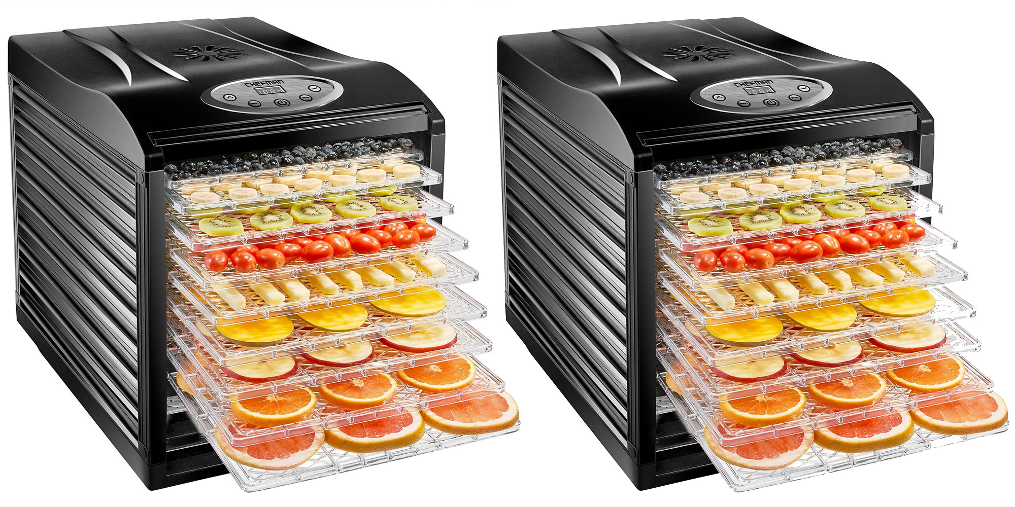 Make homemade jerky, dried marshmallows, more w/ this $100 9-tray food dehydrator (50% off)