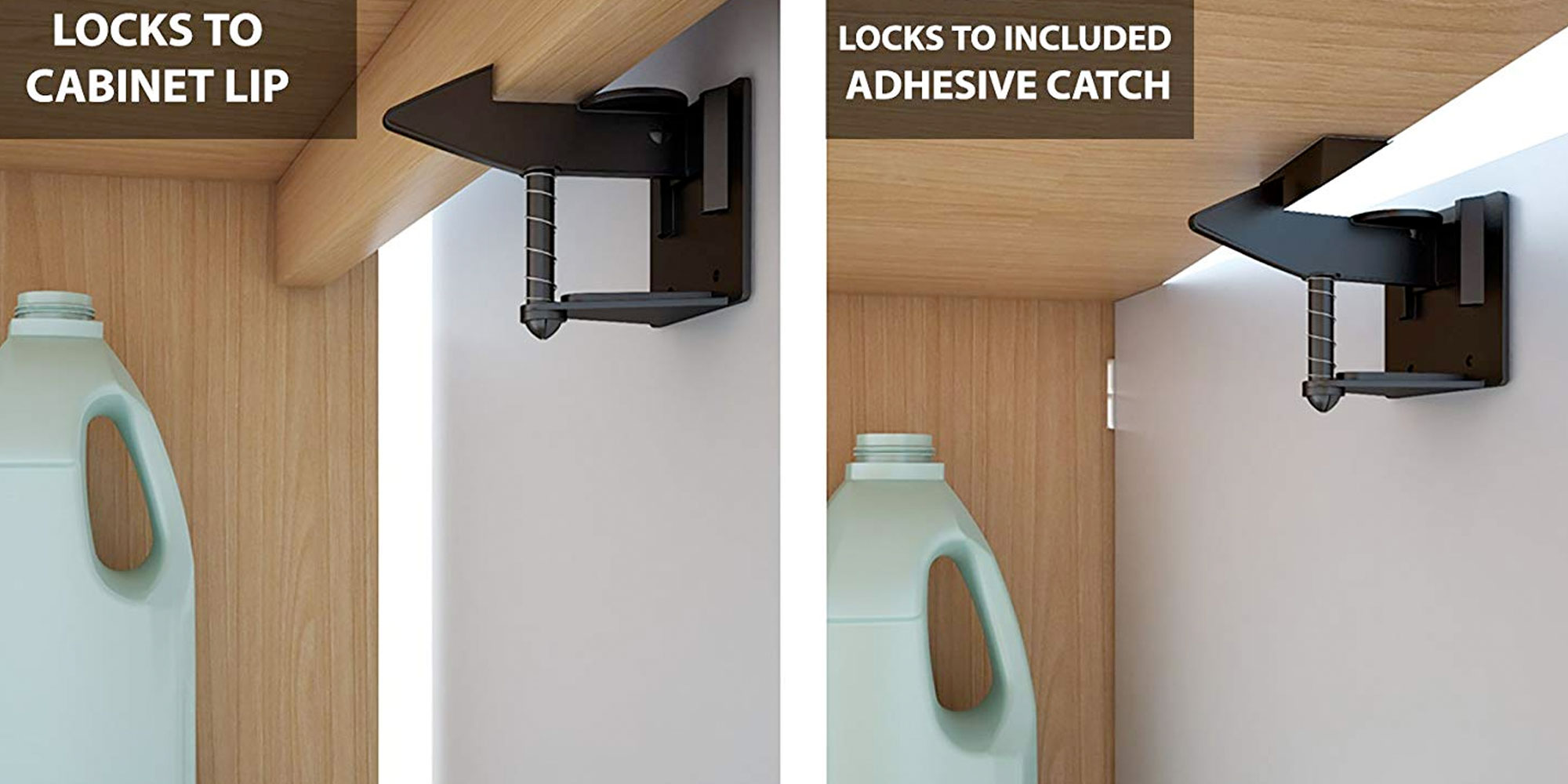 Baby-proof the kitchen w/ an 8-pack of cabinet safety latches for just $7 Prime shipped