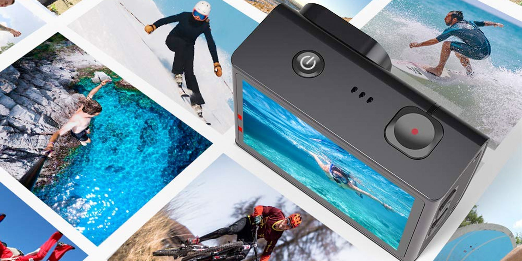 This action camera shoots 4K footage, is waterproof to 130 feet, more for $64 (Reg. $80)
