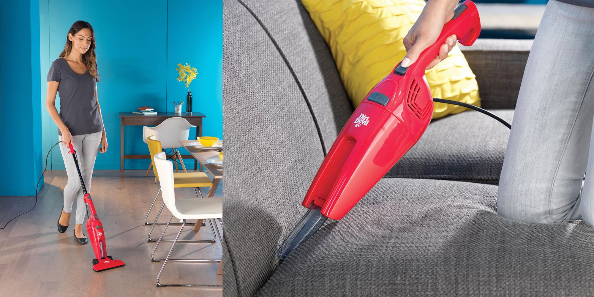 Dirt Devil's Versa Stick Vacuum offers a lightweight clean for just $10 shipped (50% off)