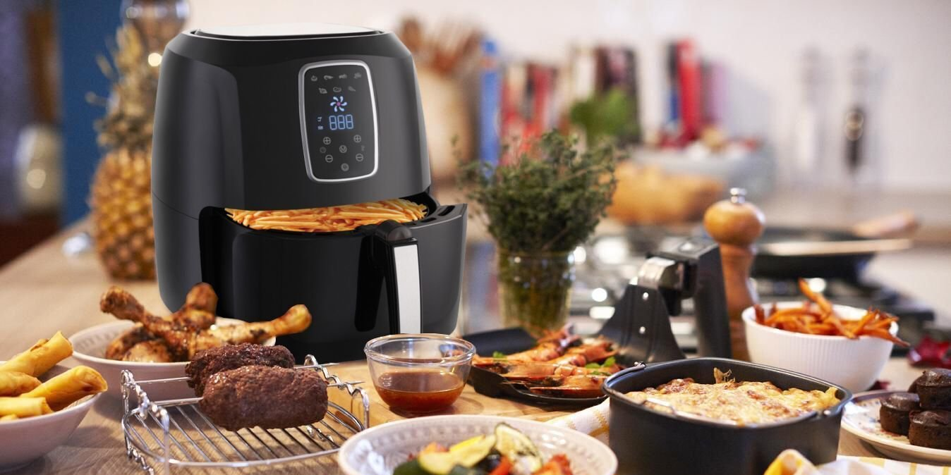 Emerald's Air Fryer cooks your meals with little to no oil at $50 (Reg. $80+)