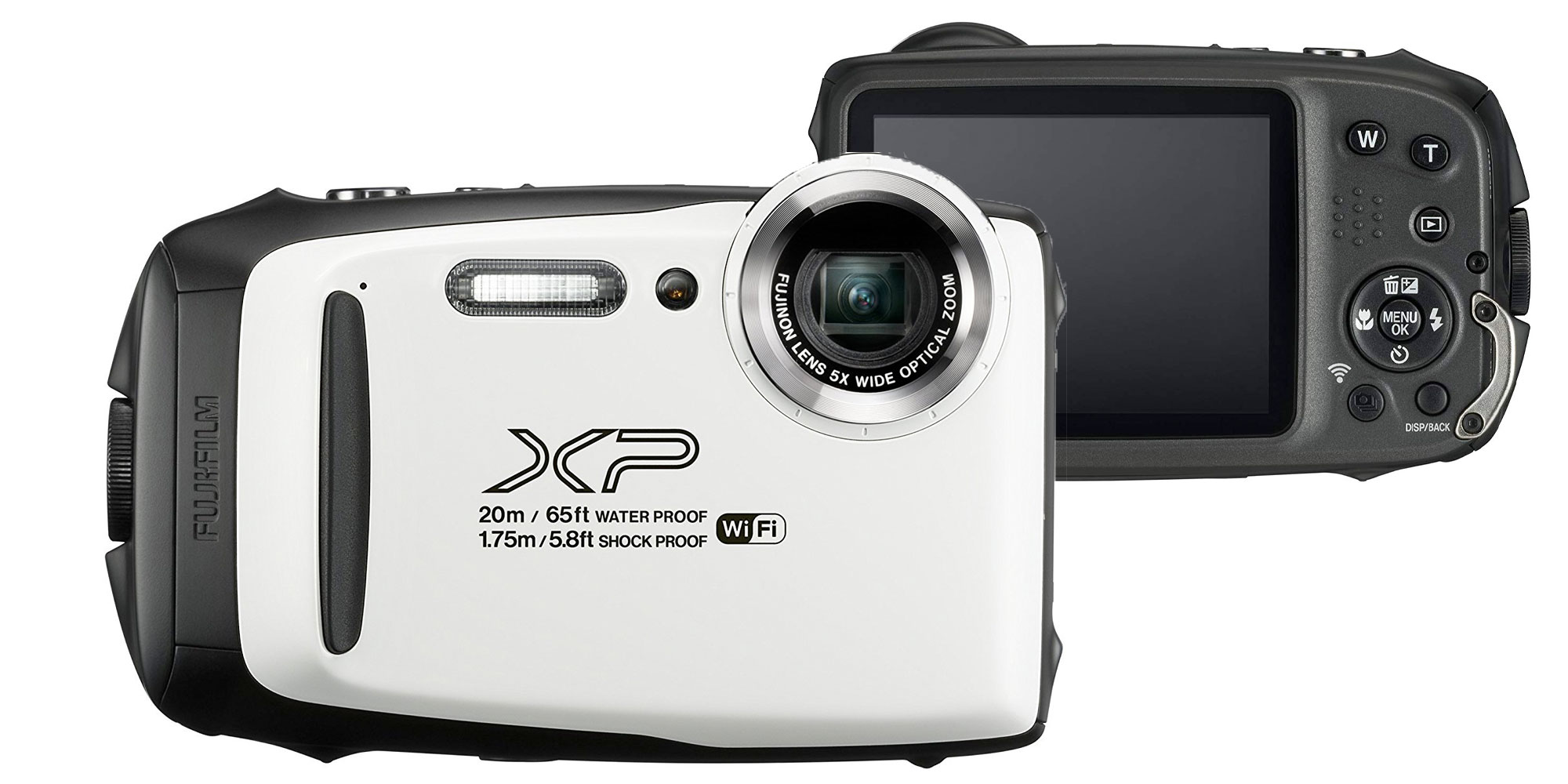 Fujifilm's FinePix waterproof camera offers 5x zoom & 1080p recording for $79 (Refurb, Orig. $180)