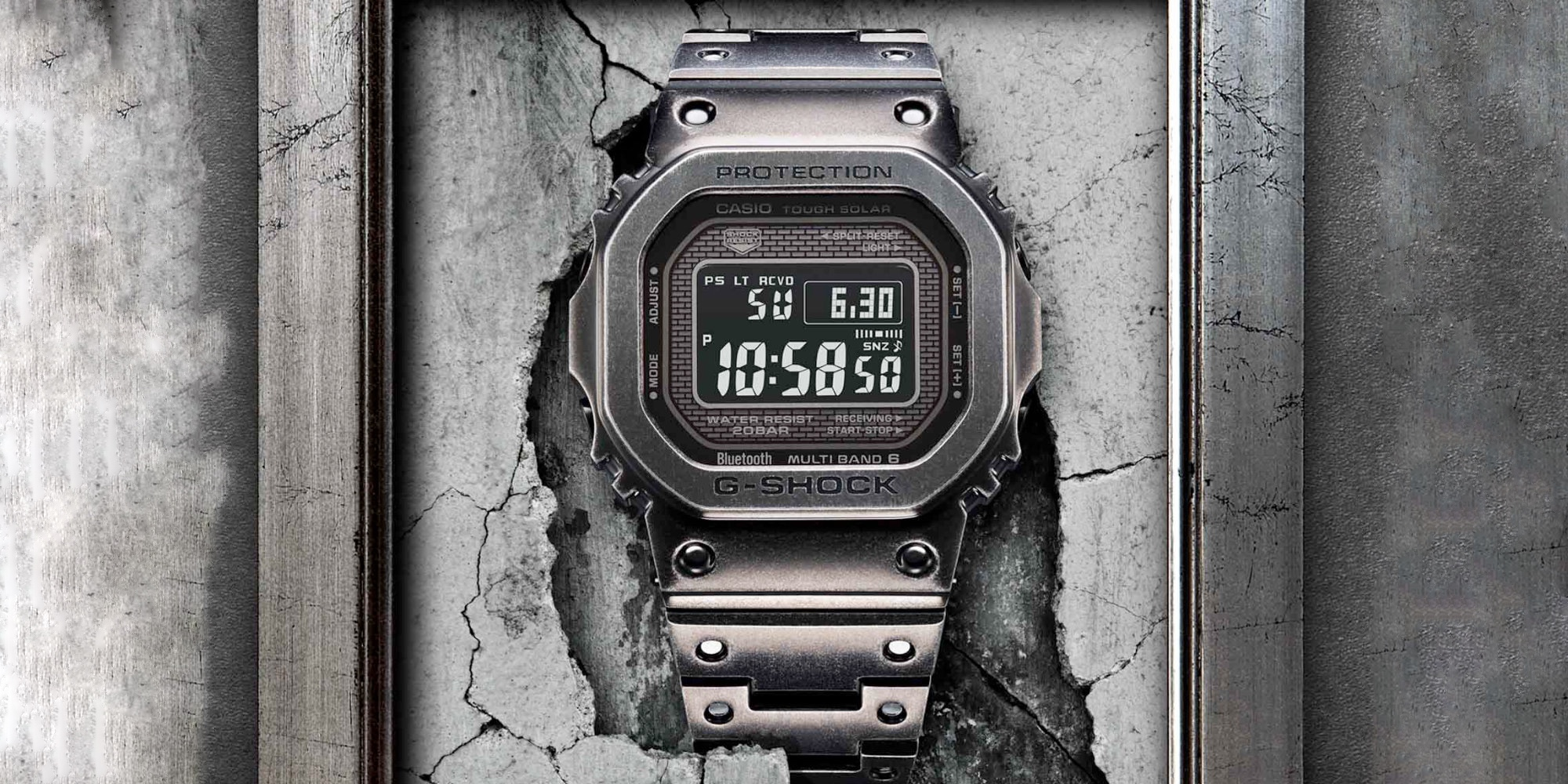 Casio's New G-SHOCK Full Metal Watch Offers A Patinated