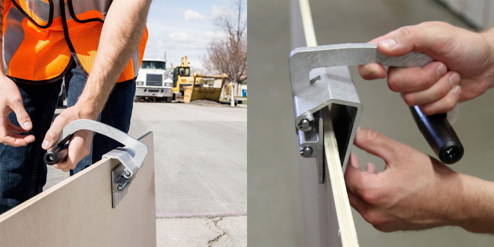 Gator Lift helps you move drywall and plywood without breaking a sweat for $20