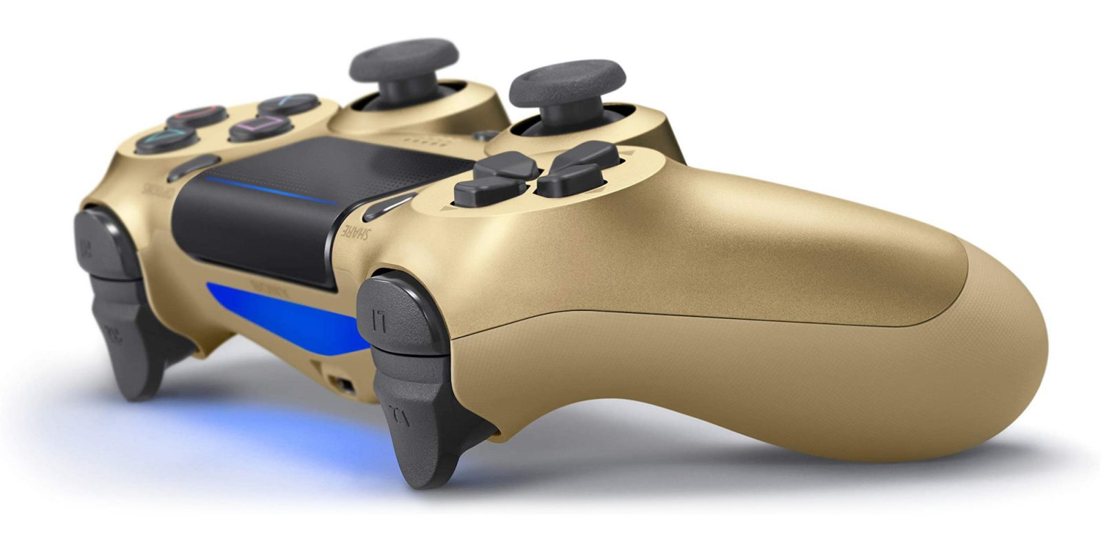 The gold DualShock 4 Controller is now down to $38 shipped (Reg. $47+), more
