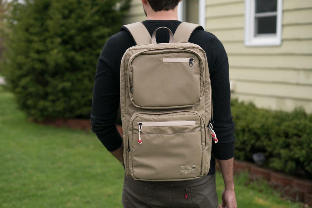 HEX Patrol Backpack outside