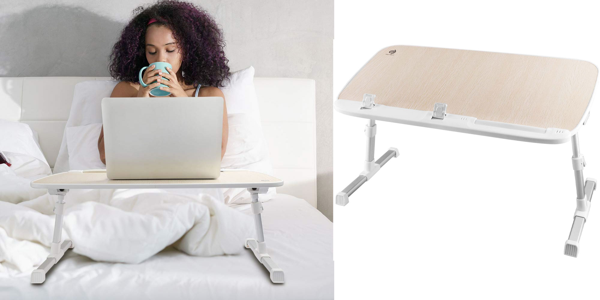 Become productive from bed w/ this adjustable laptop tray for $28 shipped (New Amazon low)