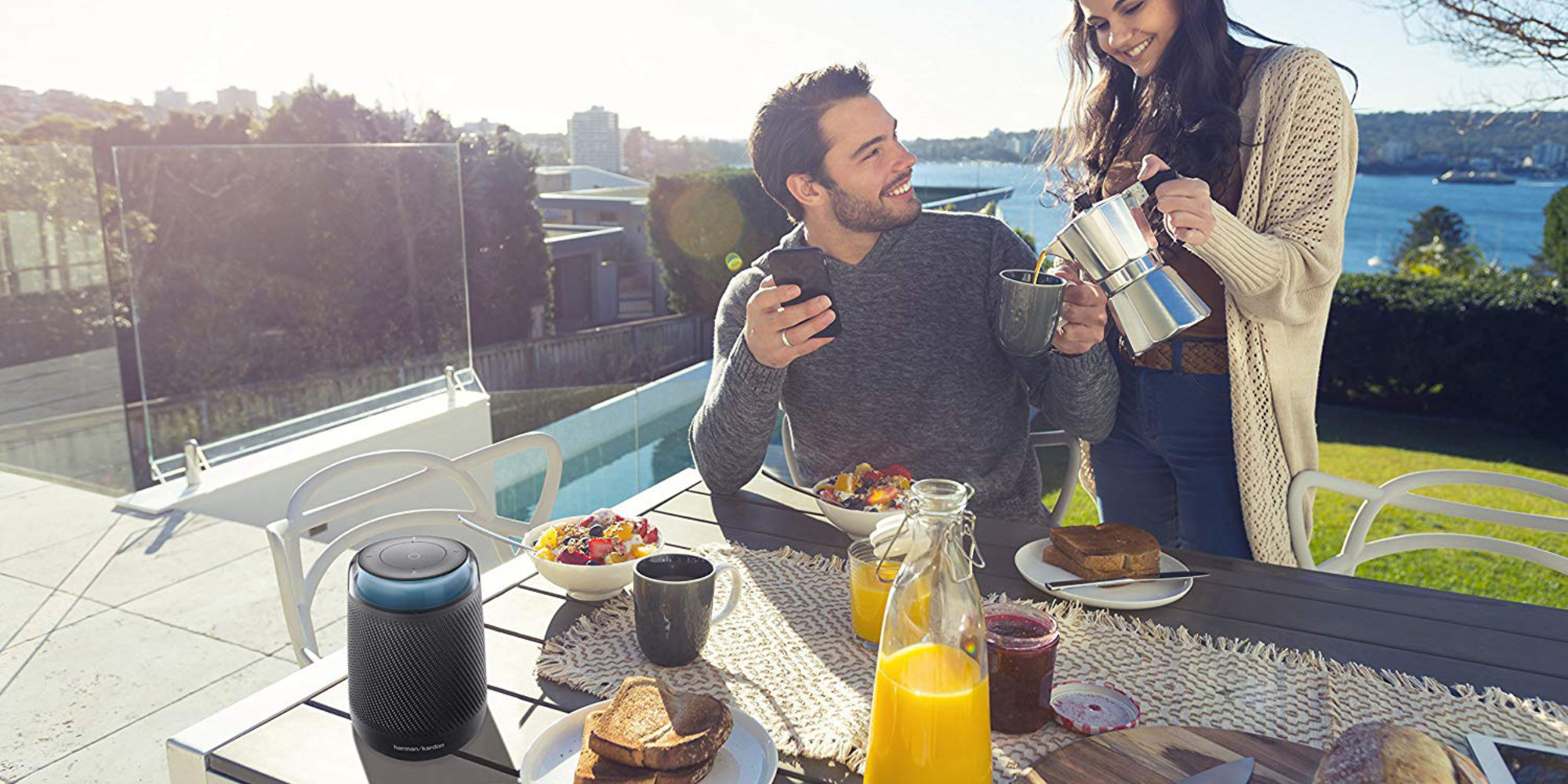 Harman Kardon Allure offers portable, 360-degree audio w/ Alexa built-in: $65 (All-time low)