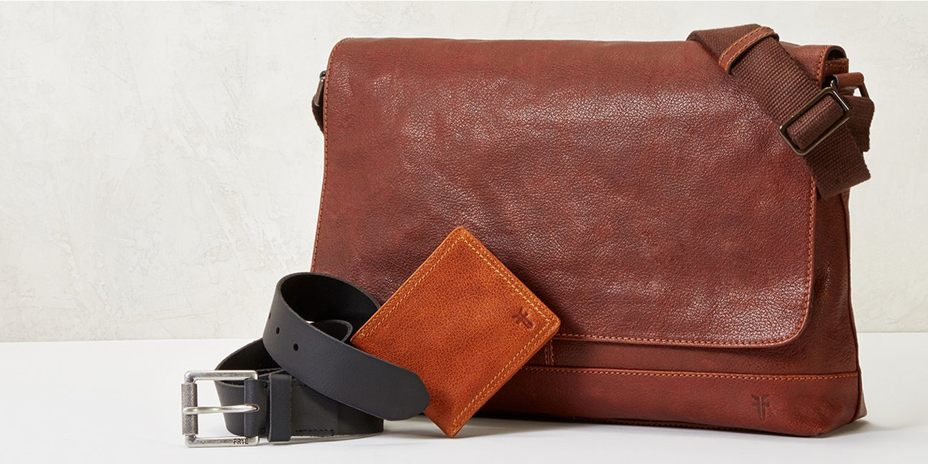 Score Frye, Cole Haan, Fossil & more from $25 during Hautelook's Leather Accessories Sale
