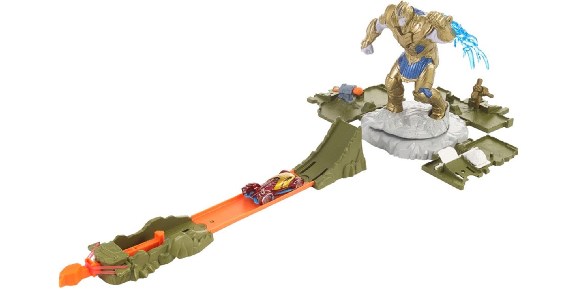 Prep for Endgame & help the Avengers take down Thanos w/ this $8.50 Hot Wheels set