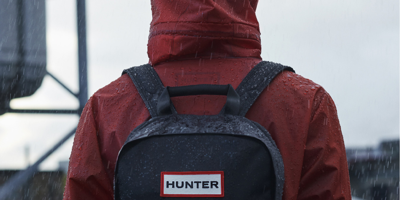 Hunter takes 20% off all of its spring outerwear, MacBook backpacks, duffel bags & more