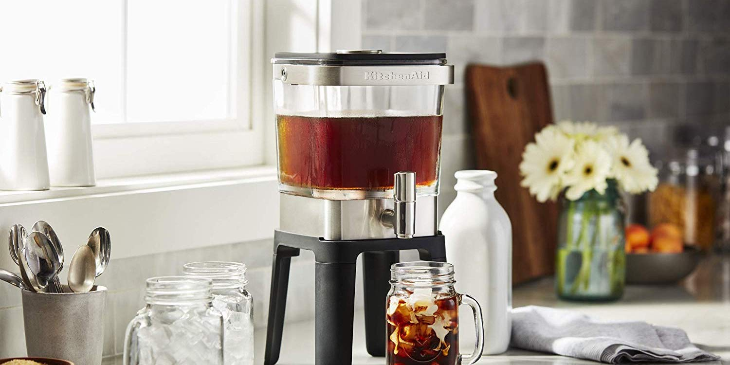 KitchenAid's Stainless Steel Cold Brew Coffee Maker w/ pouring spout now $69 (Reg. $100+)