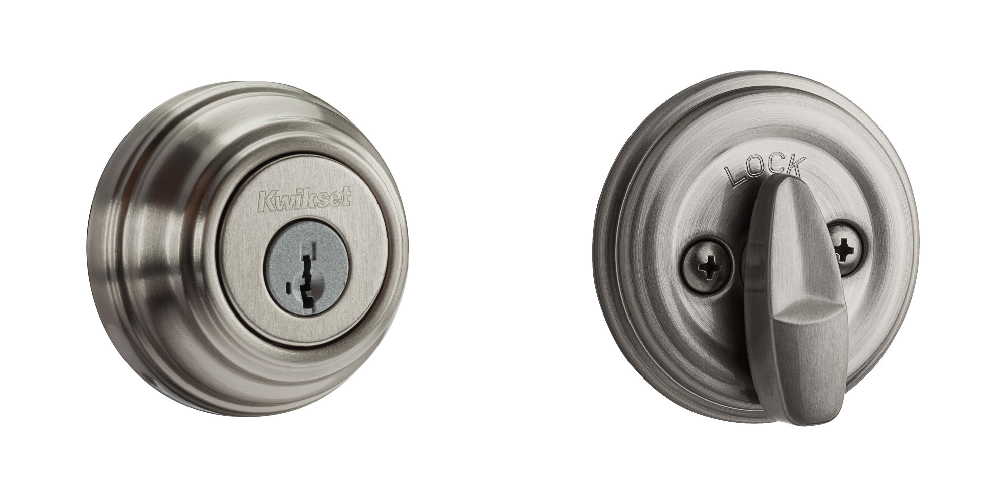 This Kwikset SmartKey Deadbolt can be re-keyed in seconds: $19 Prime shipped (All-time low)