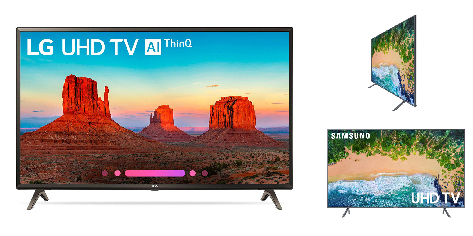 Upgrade to LG's 49-inch 4K Smart TV for $265 (All-time low), Samsung 55-inch $400, more