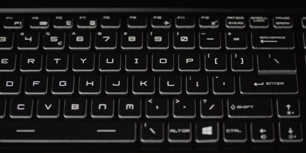 RGB-enabled keyboard