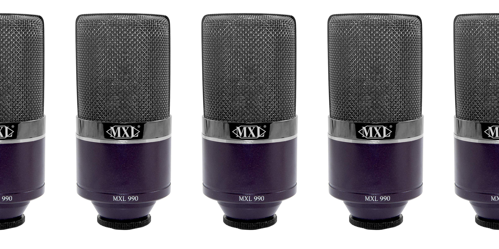 Increase your recording quality w/ MXL's Midnight Condenser Mic: $60 (Today only, Reg. $90)