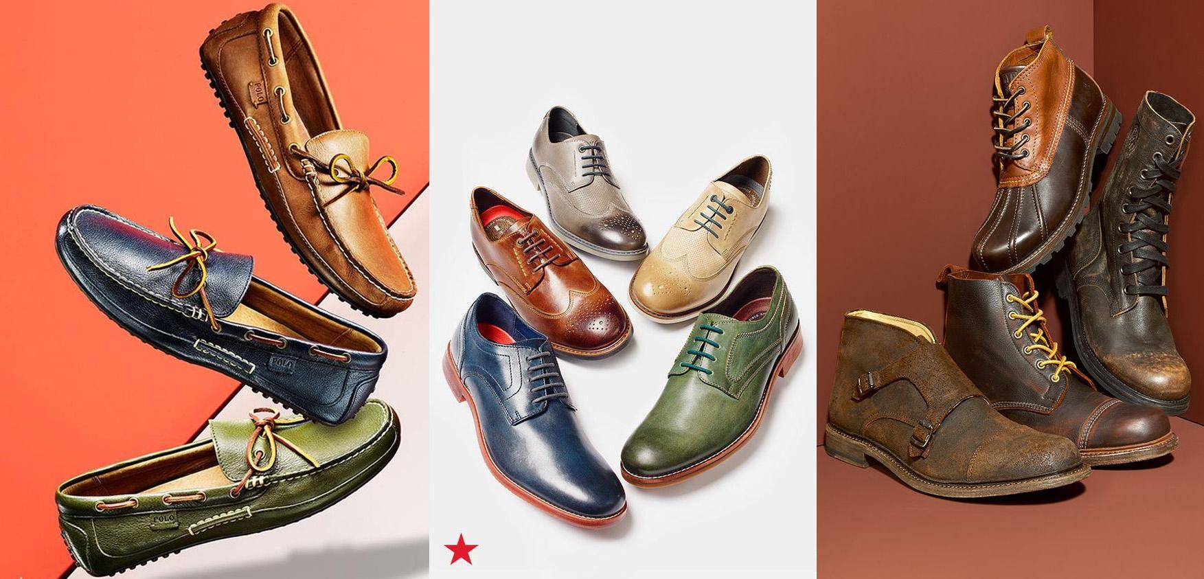 Macy's Men's Clearance Shoe Sale offers