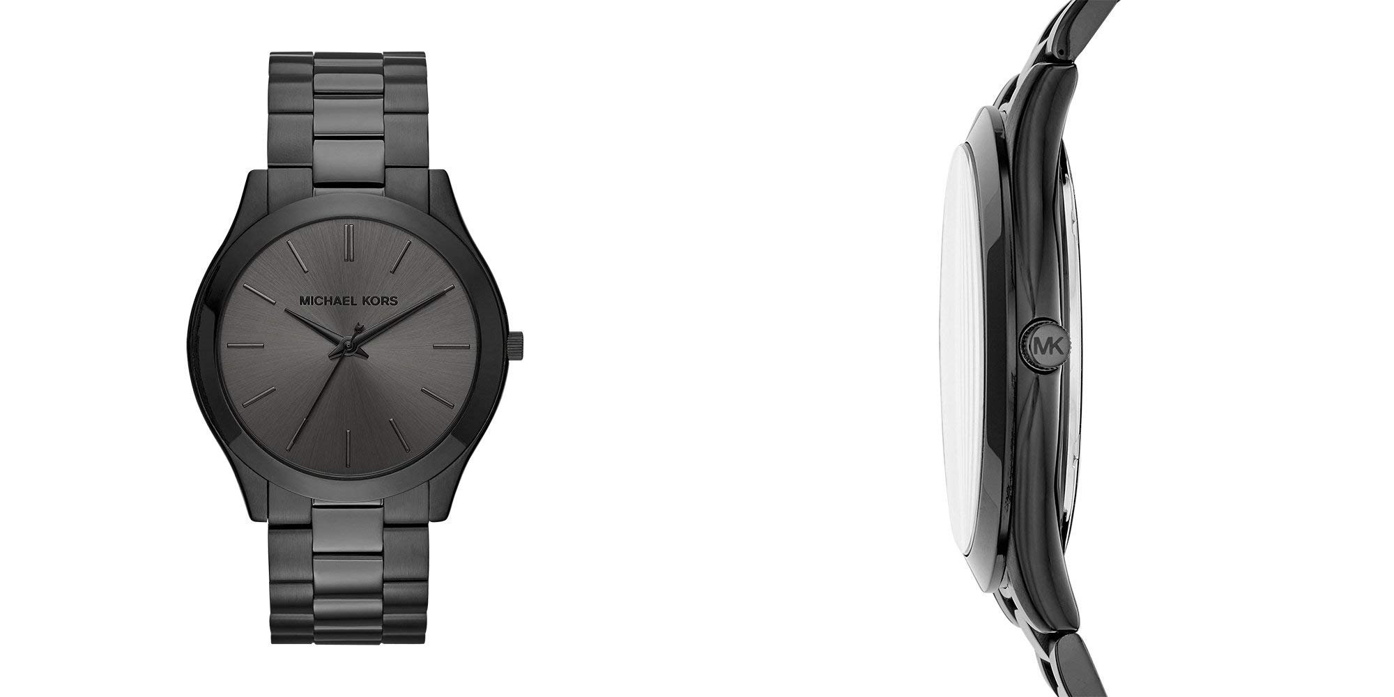 Strap on Michael Kors' Slim Runaway Watch for a sleek and sophisticated look: $99 (Reg. up to $195)