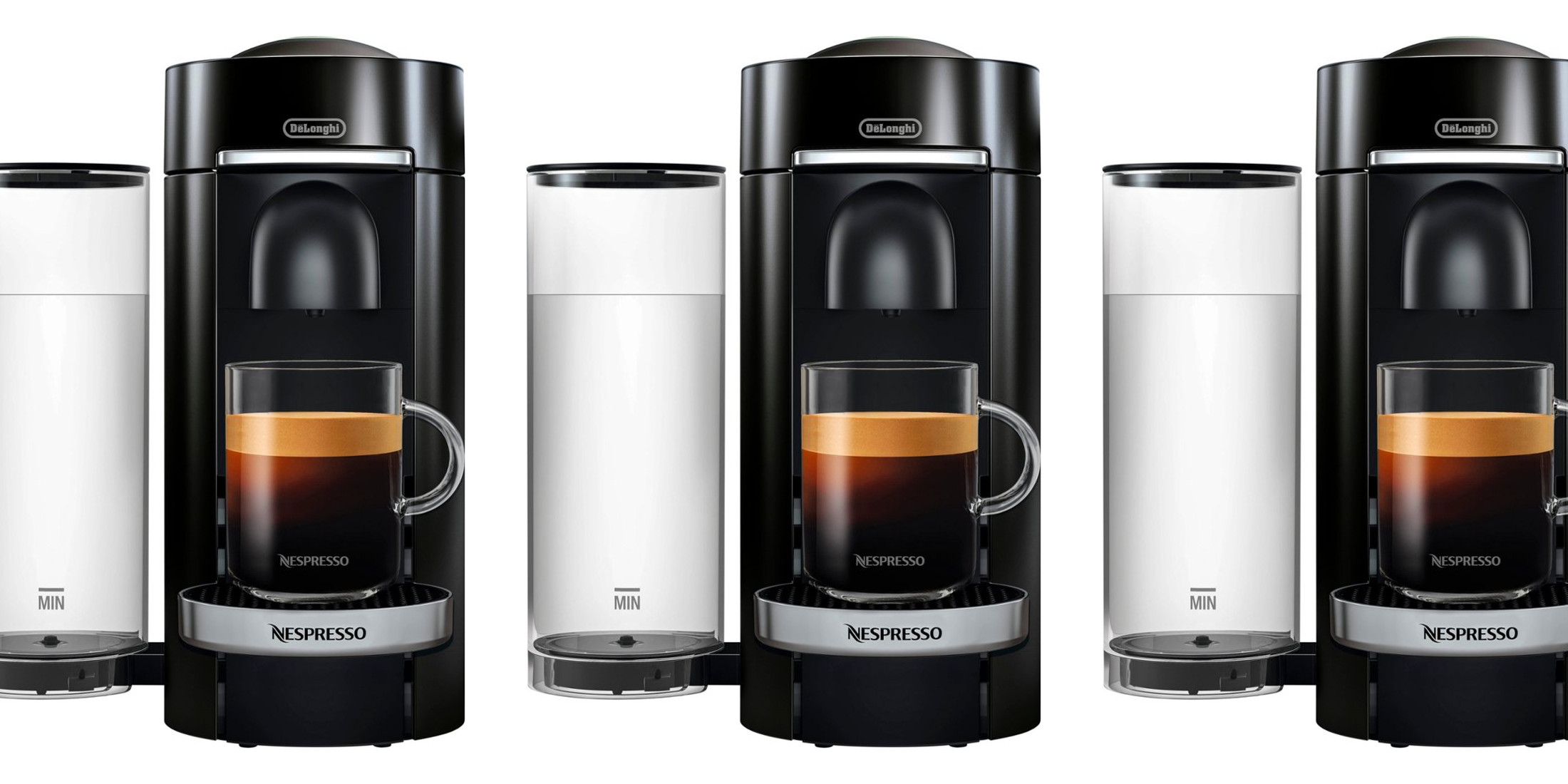 Nespresso's VertuoPlus Deluxe Coffee/Espresso Machine is on sale for $120 (Reg. up to $200)