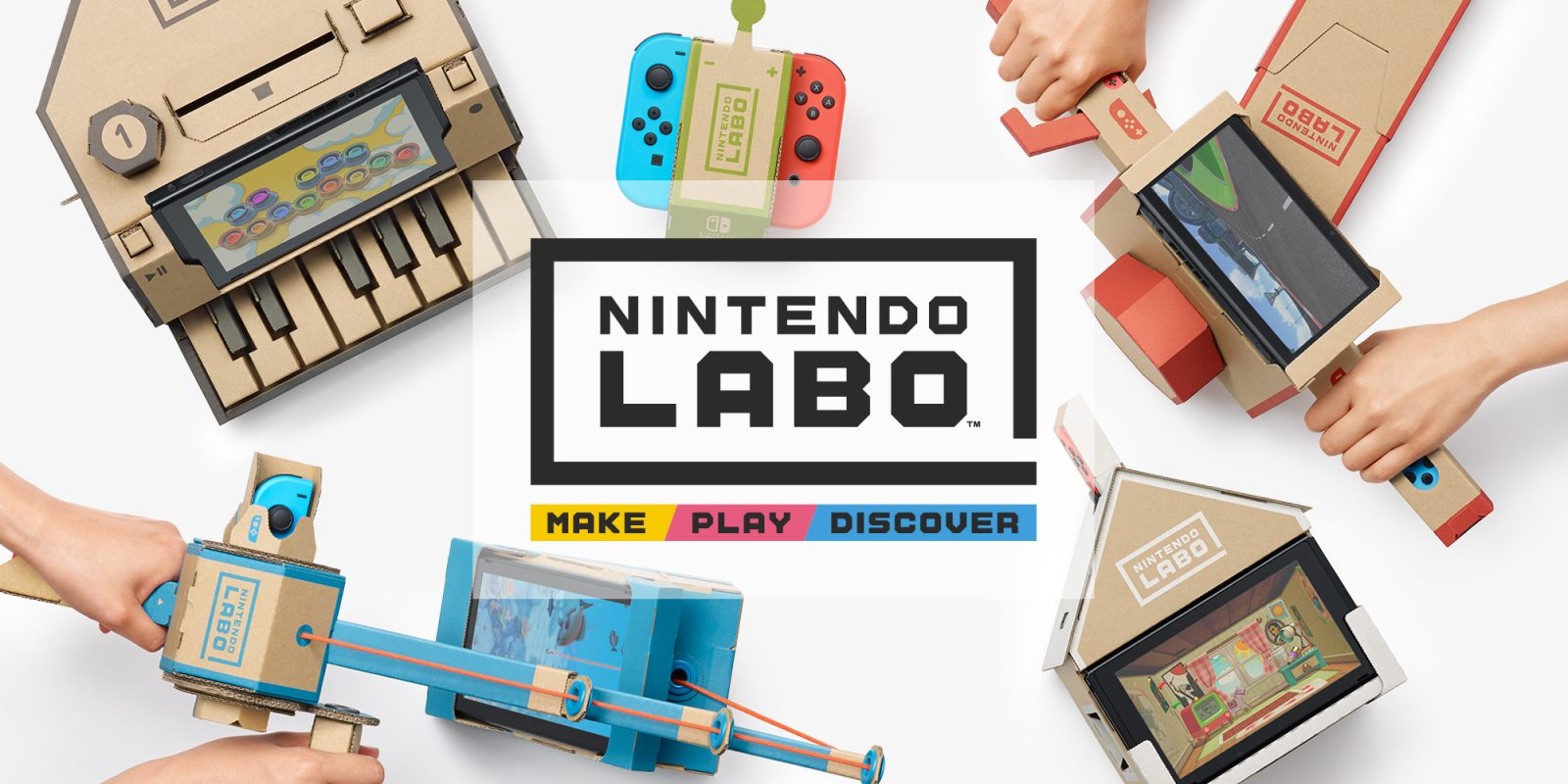 Select Nintendo Labo kits are on sale from $40 or less today (Reg. up to $70)