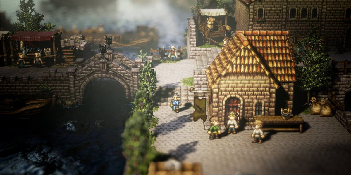 Octopath Traveler for Steam is only two months out