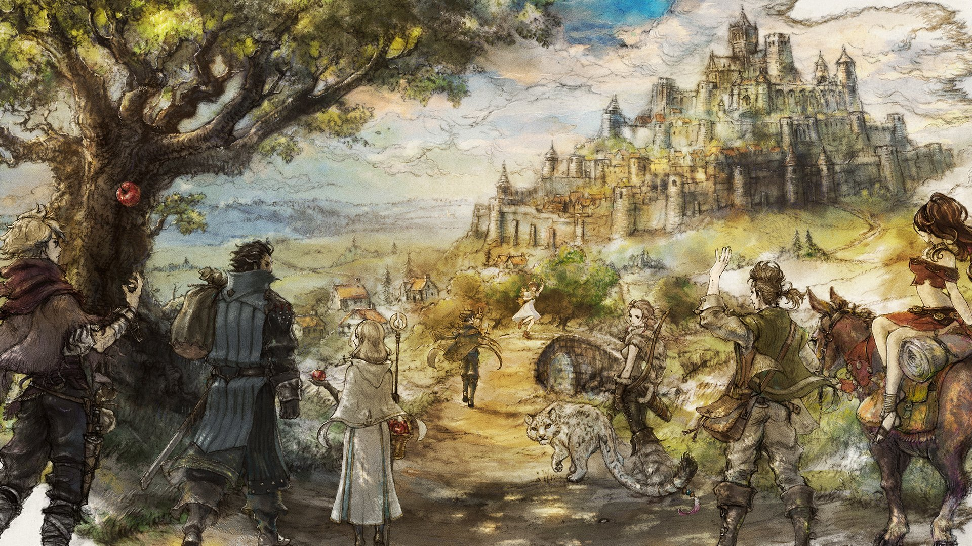 Octopath Traveler for Steam coming in June