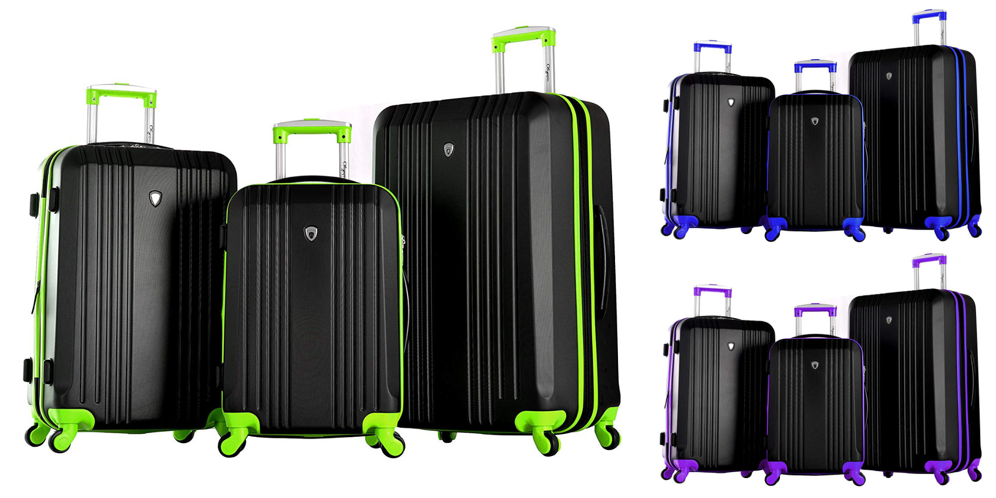 Upgrade to spinner luggage w/ Olympia's Apache II 3-pc. Set for $100 shipped (Reg. $150)