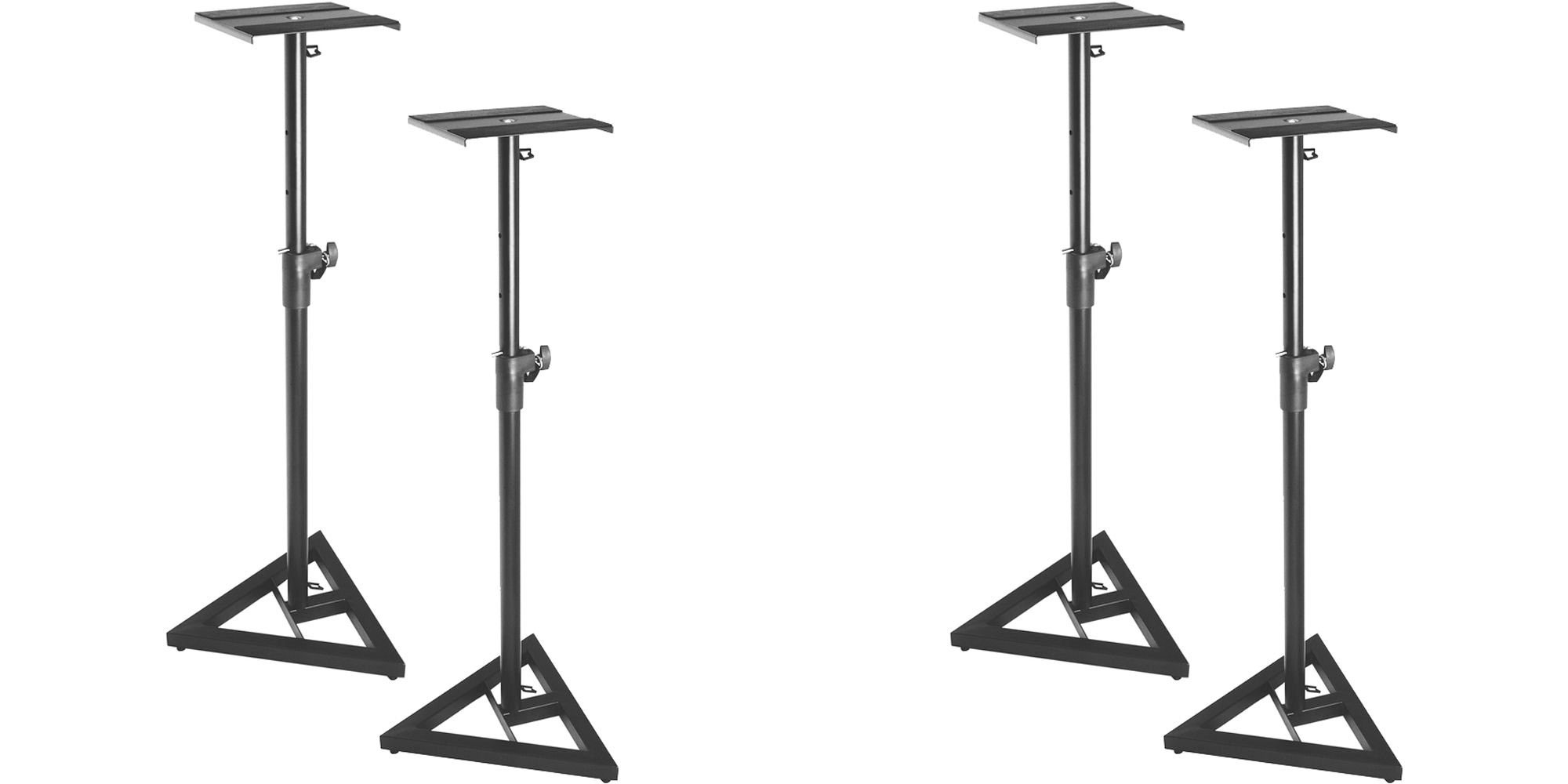 Upgrade your home office or living space w/ a pair of On-Stage Studio Monitor Stands: $40 (Reg. $70)