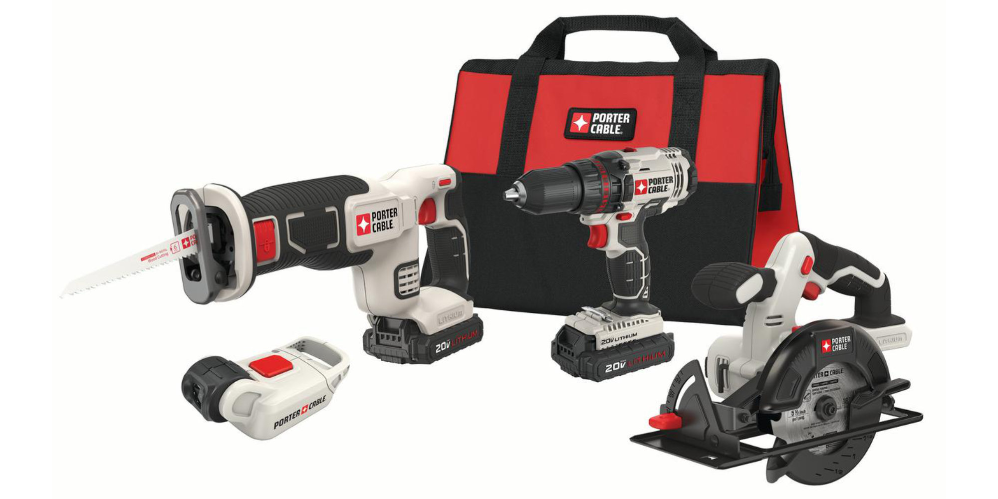 This Porter Cable 4-Tool Combo Kit is back at its all-time low of $129 shipped (Reg. $179)