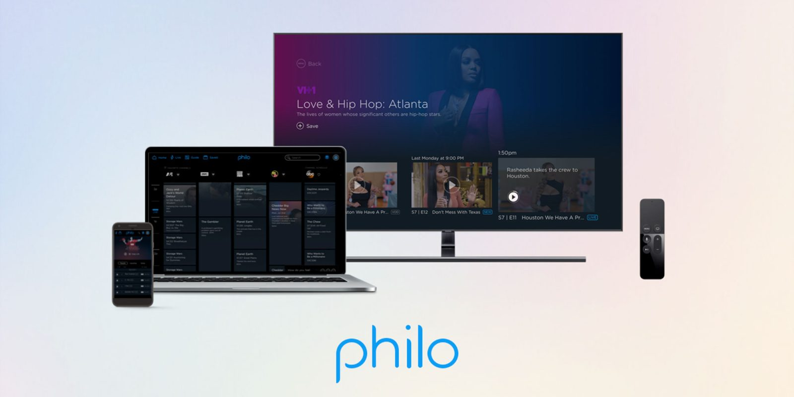 Start streaming w/ 1-month of Philo's service for FREE if you're a new member (Up to $20 value)