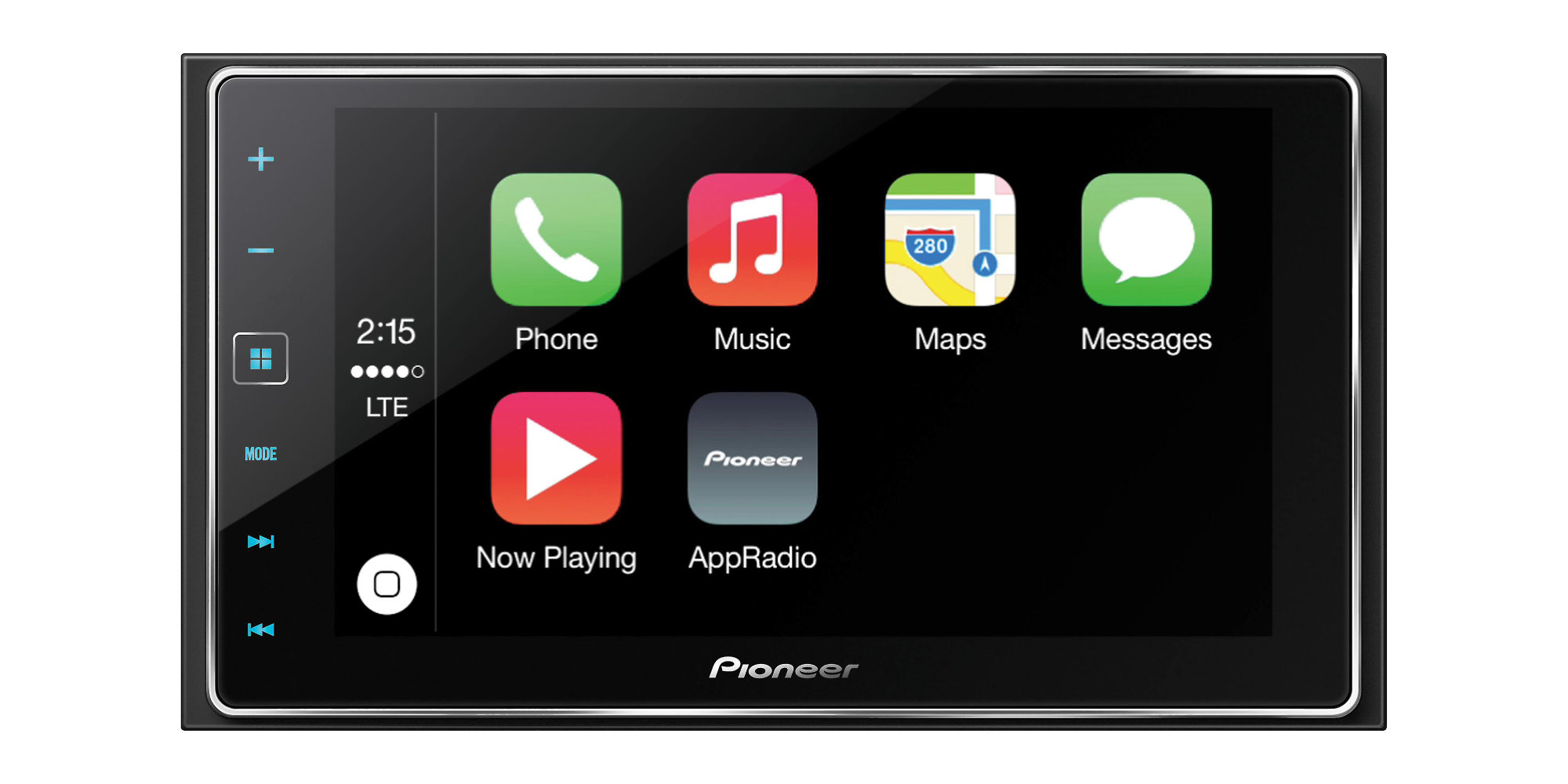 Pioneer's sleek CarPlay Receiver has a 6.2-inch display and built-in Bluetooth: $337 (Save $75)