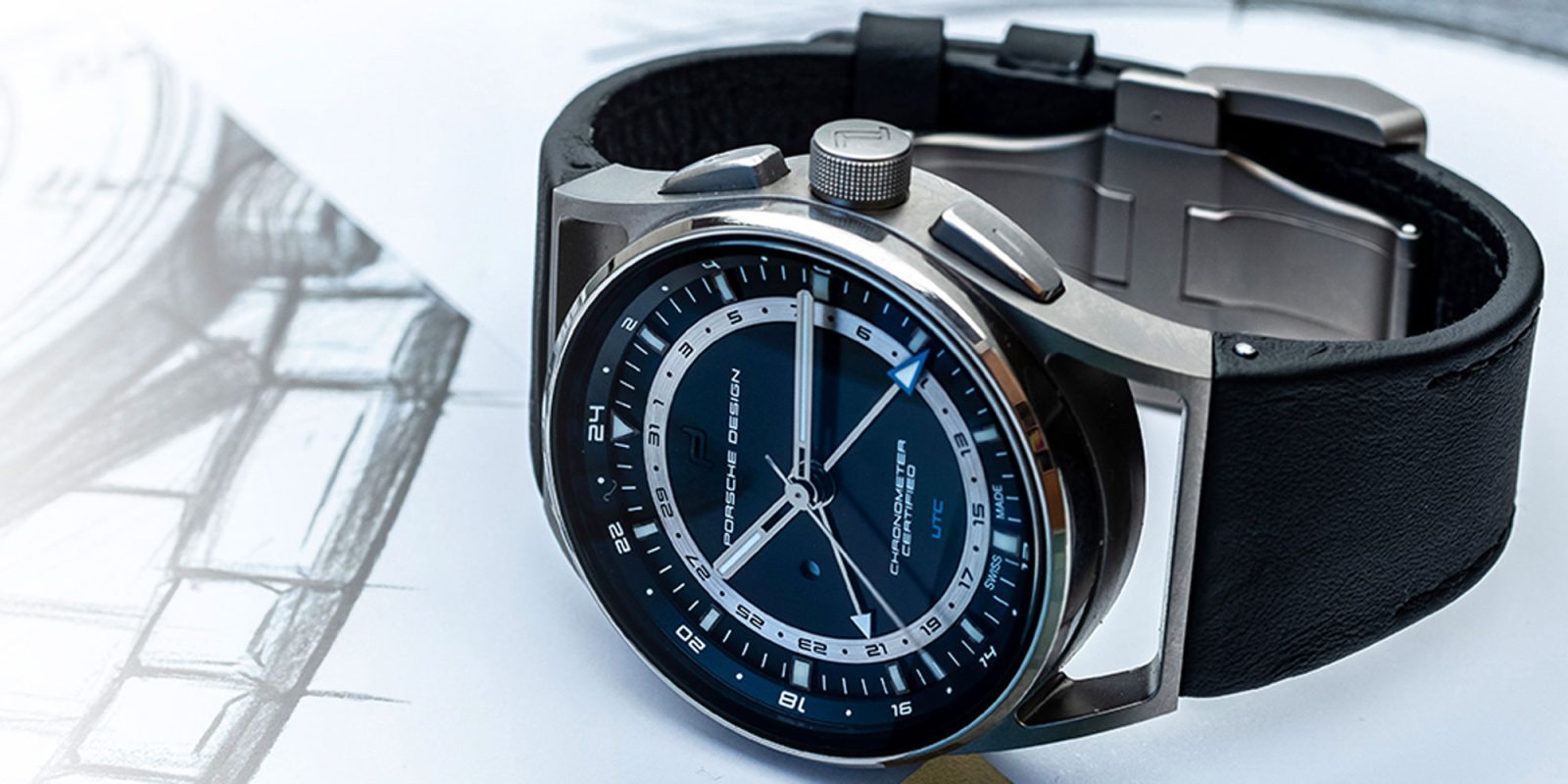 be65691b5c65 Put a Porsche Design Timepiece on your wrist to show off your vehicle love