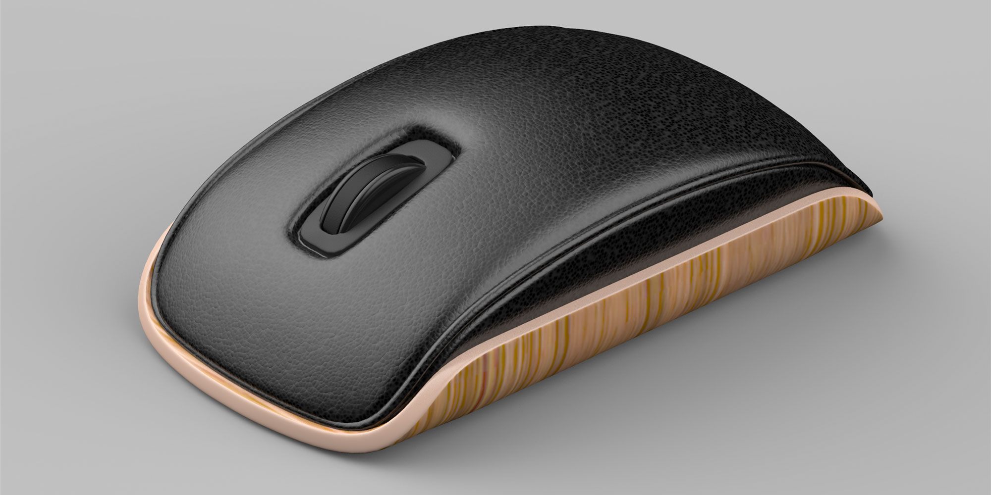 herman miller inspired wireless mouse
