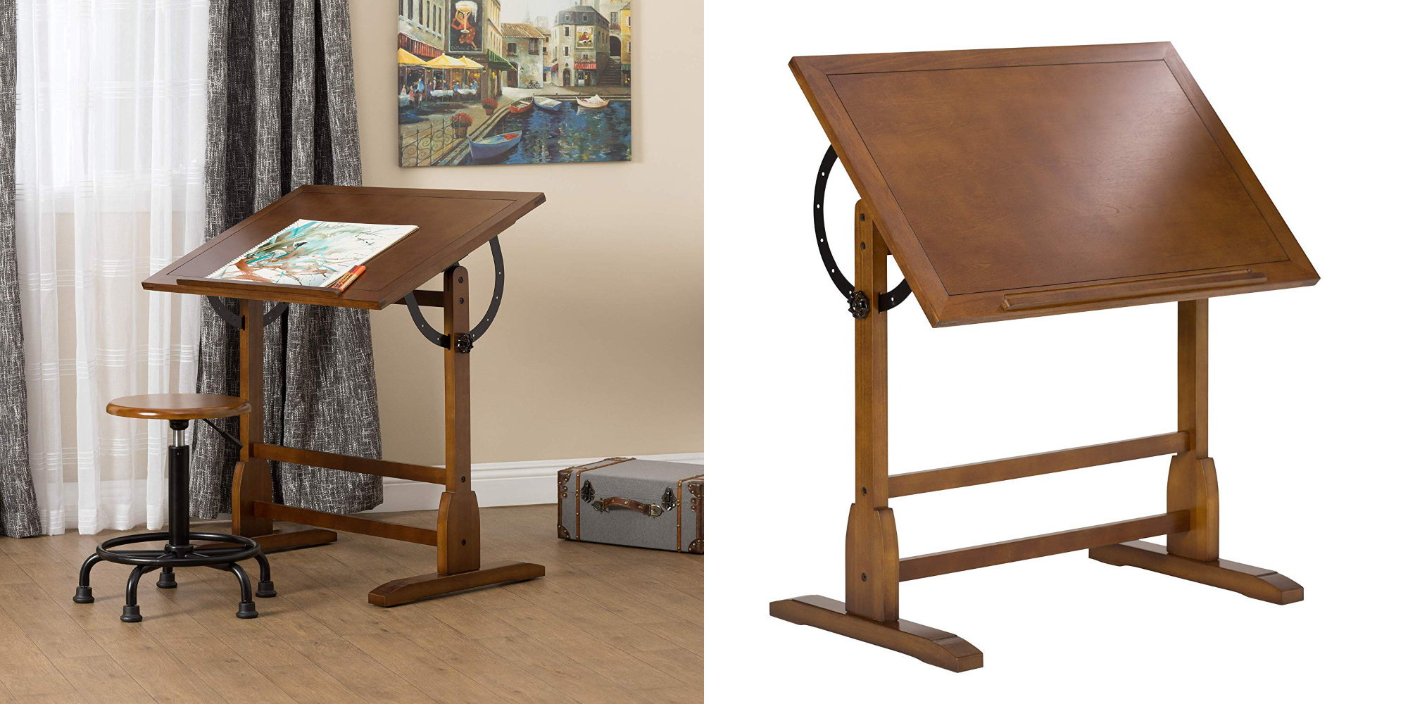 Put iPad Pro & Apple Pencil to work w/ Studio Designs' Vintage Drafting Table: $87 (Reg. $125)