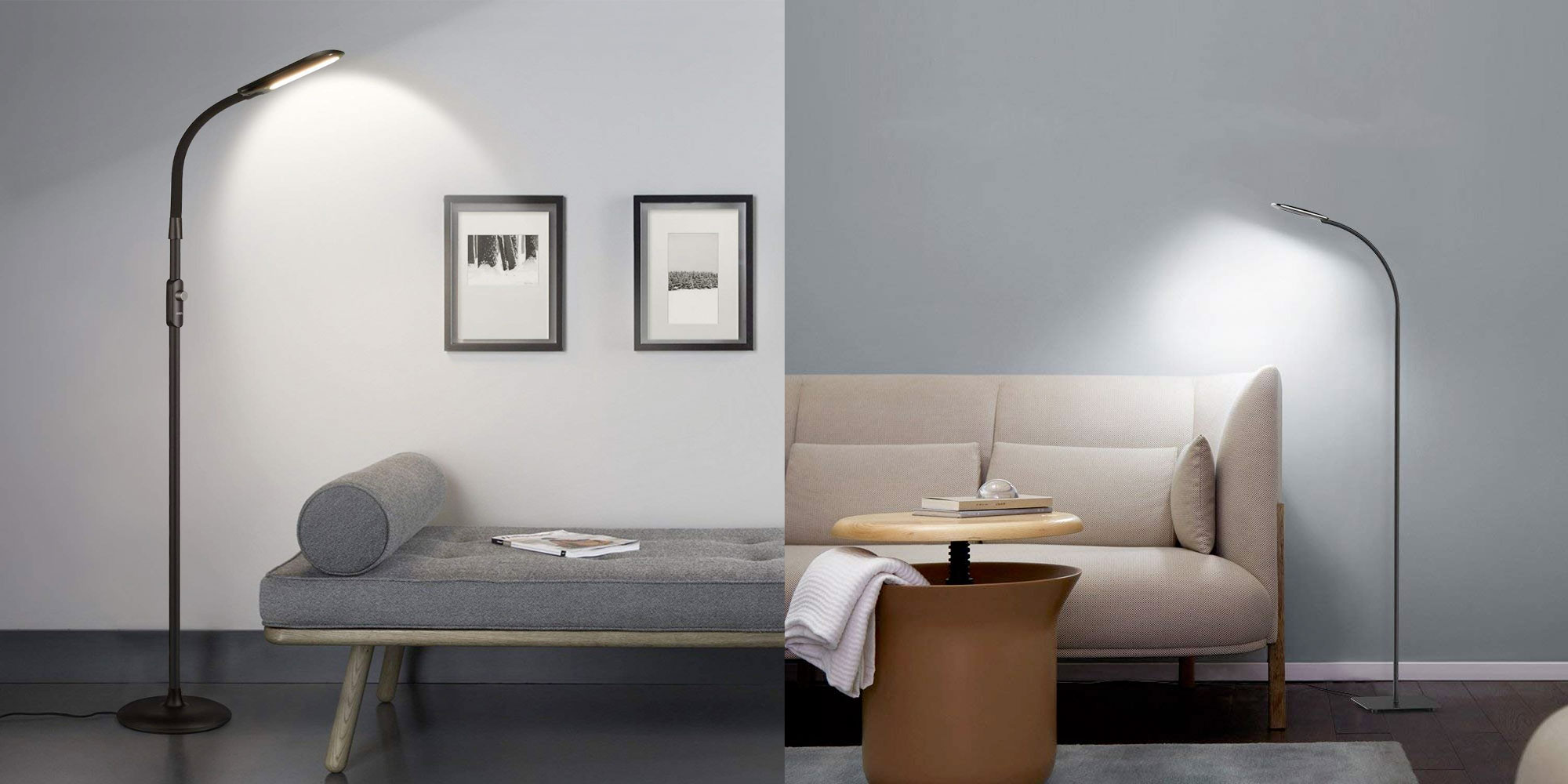 These LED lamps are perfect to brighten up any living space w/ prices from $28.50 shipped