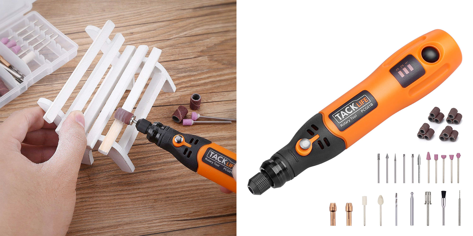 Tacklife's Cordless Rotary Tool is ideal for around the house/DIY crafts, now $16 (Reg. $23)